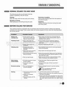 Lg Wm3455hw Washer  Dryer Combo User U0026 39 S Guide  U0026 Installation
