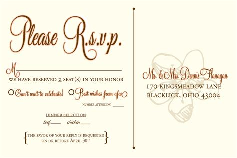 rsvp cards for weddings wording designs by n wedding rsvp postcards