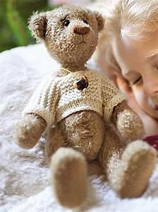 Ours En Peluche : un ours en peluche cousu main marie claire ~ Teatrodelosmanantiales.com Idées de Décoration