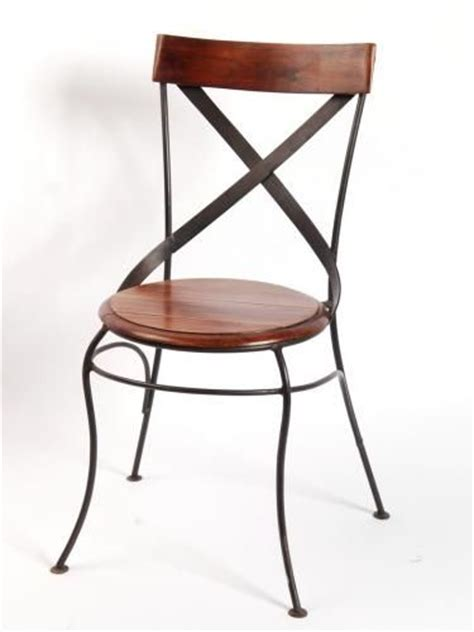 chaise en fer forge chaise bistrot en fer forge