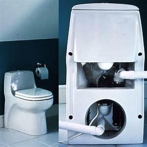 Wc Avec Broyeur : cuvette wc compacte avec broyeur int gr sanicompact ~ Edinachiropracticcenter.com Idées de Décoration
