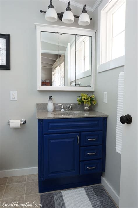 Master Bathroom Makeover Reveal  On A $100 Budget Small