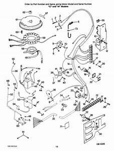 Force 85 Hp  1986  Electrical Components  U0026quot C U0026quot  And  U0026quot N U0026quot  Models Parts
