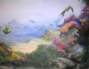 Peinture À L Eau Murale : peinture murale sous l eau ~ Melissatoandfro.com Idées de Décoration