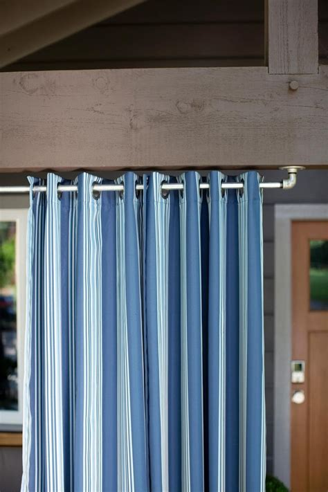 extra long outdoor curtain rods curtain ideas