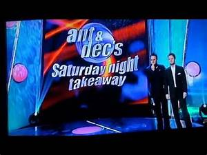 Ant and Decs Saturday Night Takeaway Undercover German Pop ...