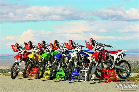 motocross in action 250 dyno shootout who makes the most who makes the least