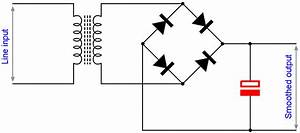 capacitor uses capacitor applications electronics notes With capacitors are used to smooth the pulsating voltage from a power