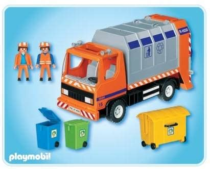 playmobile cuisine playmobil camion recyclage ordures achat vente univers