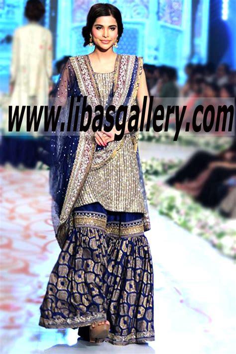 nida azwer bridal wear pakistani bridal dresses designer