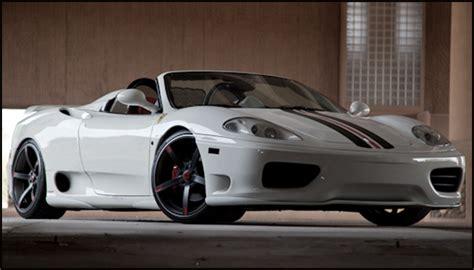 ferrari  aerodynamic enhancements nr automobile