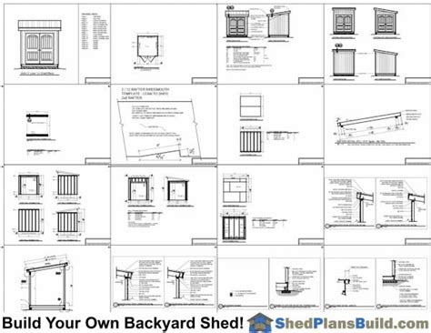 lean to shed plans 8x8 8x8 lean to shed plans build a lean to shed