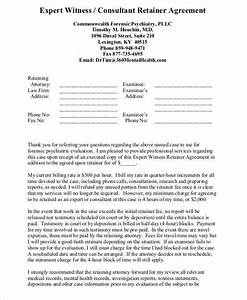 18 consulting agreement forms With consulting retainer agreement templates
