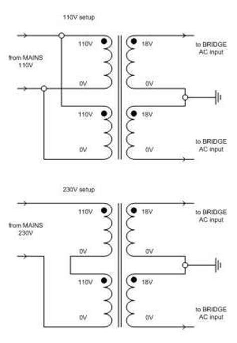 stereo omzetten van 220 naar 110