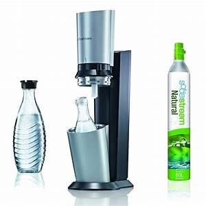 Sodastream Glaskaraffe 1 Liter : trinkwasser sprudler sodastream crystal neues wasser ~ Watch28wear.com Haus und Dekorationen