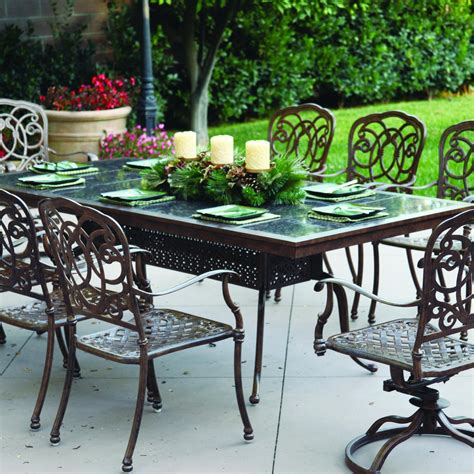 dining table patio dining table tile top