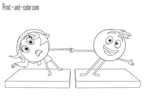 Colorir Personagens Do Filme Emoji