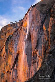 Fall Horsetail Yosemite National Park California