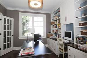 Office Built in - Traditional - Home Office - boston - by