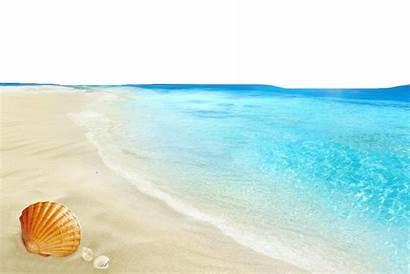 Beach Transparent Background Sea Water Clipart Clip