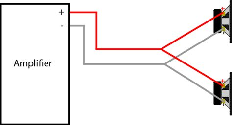 Wire Diagram For Mono And 2 Channel And 2 Sub by How To Wire Car Speakers To In Parallel Not Series