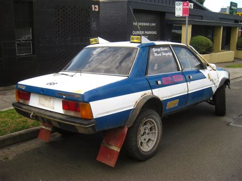 aussie  parked cars  peugeot  srd turbo rally car