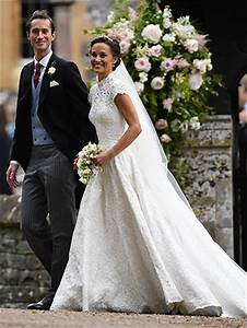 pippa middleton wedding dress see it from every angle flare With pippa middleton s wedding dress