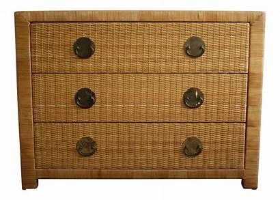 Drawers Wicker Chest Chairish Furniture Drawer