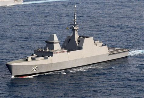 rss stalwart  guided missile stealth frigate warship