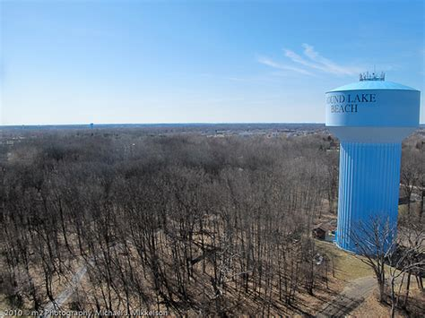 Round Lake Beach Water Tower