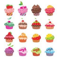 Cartoon Cupcake Clip Art Free