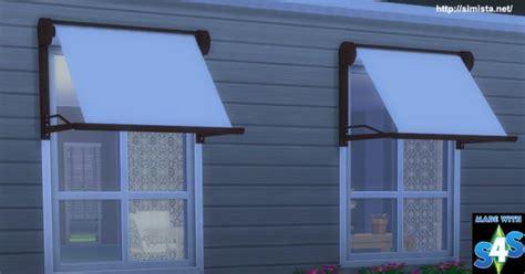 simista modern window awning sims  downloads