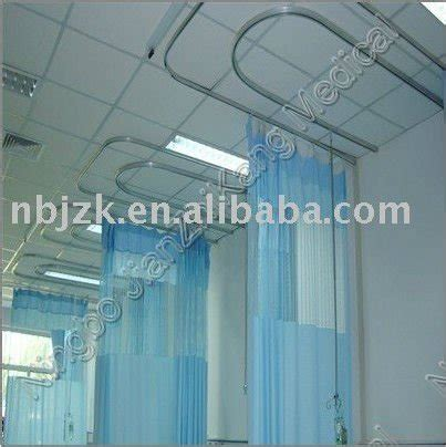 hospital curtain fabric with track system view hospital