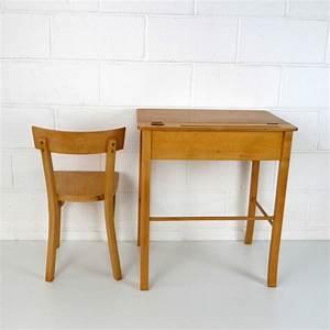 Bureau Enfant 4 Ans : baumann grand bureau enfant la marelle mobilier vintage pour enfants ~ Teatrodelosmanantiales.com Idées de Décoration