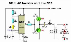 Listrik Dan Elektronika  Inverter Dc Ke Ac Dengan Ic 555