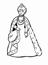 Queen Coloring Pages Printable Bright Choose Colors Favorite sketch template