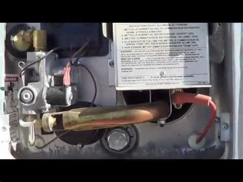Water Heater Cougar Rlswe Fifth Wheel Trailer Review