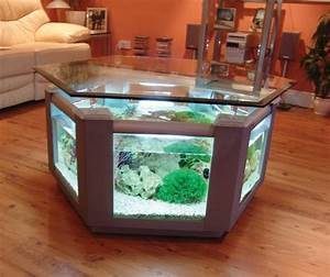 Aquariums different types of aquariums for Awesome unique living room tables