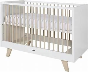 Babybett 70x140 Weiß : kidsmill babybett umbaubett fynn 70x140 cm wei natur kleine fabriek ~ Indierocktalk.com Haus und Dekorationen