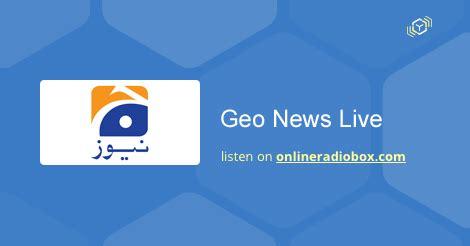 Live Geo News Mobile by Live Geo News Listen Live Islamabad Pakistan