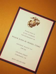 usmc custom invitations marine corps any occasion With wedding invitation marine design