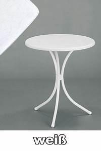 Gartentisch Weiß Rund : bistrotisch wei rund bestseller shop f r m bel und einrichtungen ~ Markanthonyermac.com Haus und Dekorationen