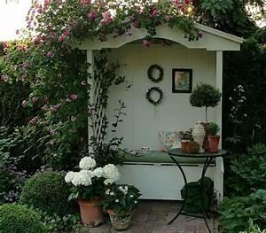Foto Wohnen Und Garten : gartenlaube philosophenbank nur foto pflanzen und garten pinterest sweet benches and ~ Markanthonyermac.com Haus und Dekorationen