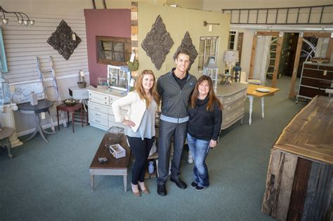 new shabby chic furniture store opens in downtown bay city