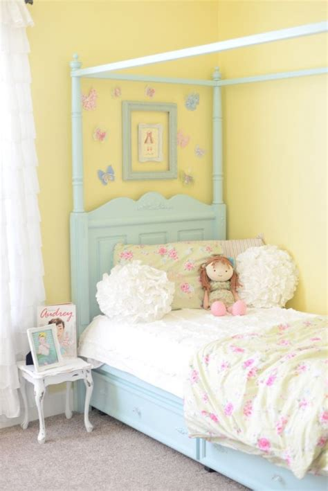 yellow shabby chic bedroom 40 beautiful and cute shabby chic kids room designs digsdigs