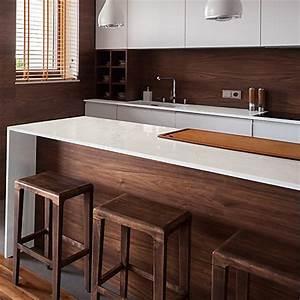 Kücheninsel Bar Theke : die k chenarbeitsplatte als theke bar oder tisch k chenatlas ~ Markanthonyermac.com Haus und Dekorationen