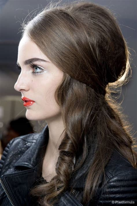 vintage party hairstyles  women
