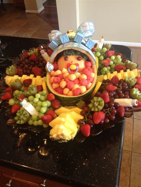 edible centerpieces for baby shower fruit arrangements baby showers and babies on