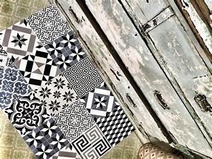 Tapis Vinyl Imitation Carreaux De Ciment : tapis et sets beija flor en vinyl imitation carreaux de ~ Zukunftsfamilie.com Idées de Décoration