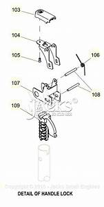 Generac 0059310  Xp8000e  Parts Diagram For Handle Lock